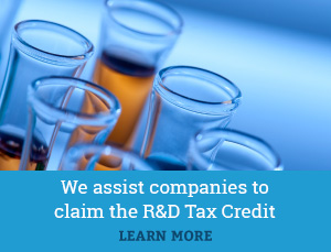 We assist companies claim the R&D Tax Credit